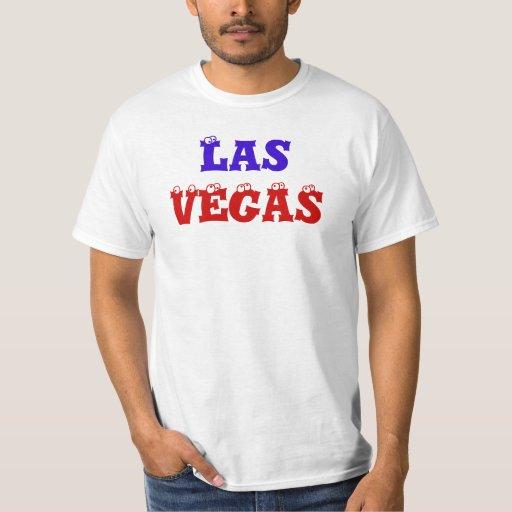 Camiseta divertida de LAS VEGAS Polera