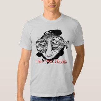 Camiseta divertida de los conductores de Nueva Playeras