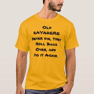 camiseta divertida de los kayakers