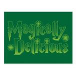 camiseta divertida de los patricks mágico delicios postales