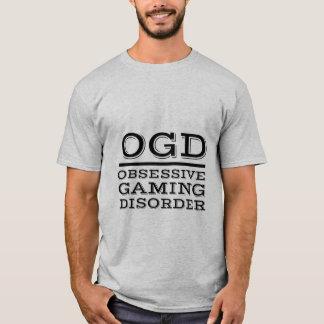 Camiseta divertida de los videojugadores para el