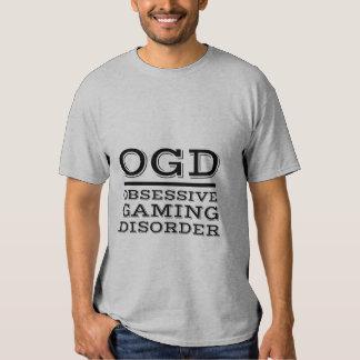 Camiseta divertida de los videojugadores para el camisas