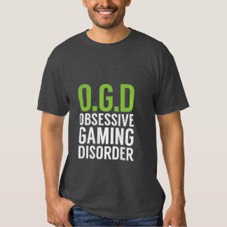 Camiseta divertida de los videojugadores para los remera