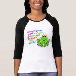 "Camiseta divertida de ""princesa Seeks Frogs"""