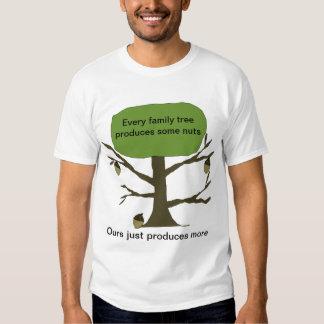 Camiseta divertida del árbol de familia remera