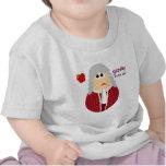 Camiseta divertida del bebé de Isaac Newton