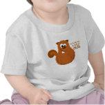 Camiseta divertida del bebé del árbol de familia