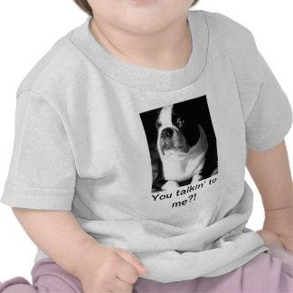 Camiseta divertida del bebé