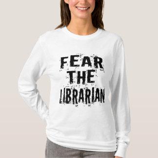 Camiseta divertida del bibliotecario