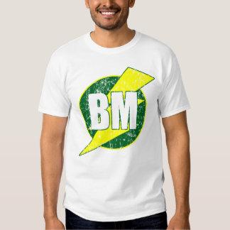 Camiseta divertida del boda del mejor hombre camisas
