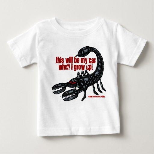 Camiseta divertida del caminante de la batalla del playera para bebé