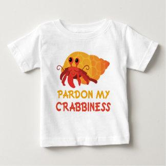 Camiseta divertida del cangrejo de ermitaño del