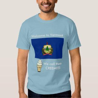 Camiseta divertida del chiste de Vermont Remera