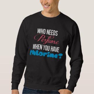 Camiseta divertida del cloro para los buceadores y jersey