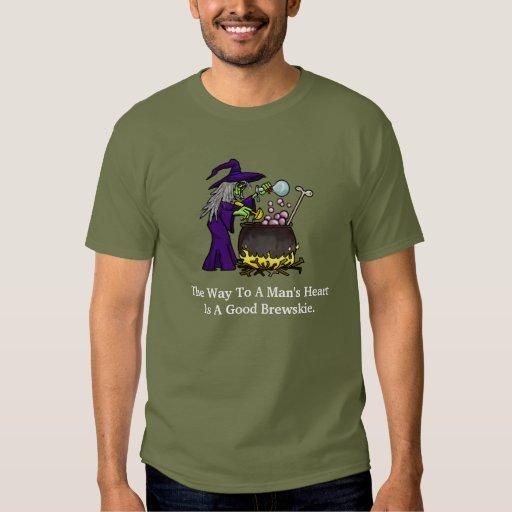 Camiseta divertida del consejo de la cerveza de camisas