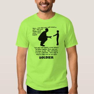 Camiseta divertida del consejo del orgullo poleras