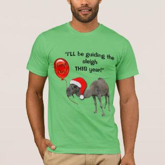 Camiseta divertida del día de chepa de Santa del