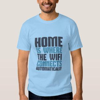 Camiseta divertida del friki del ordenador playera
