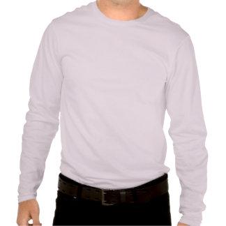Camiseta divertida del gato y del ratón