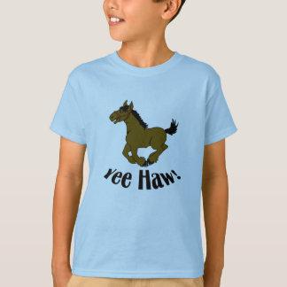 Camiseta divertida del Haw de Yee del niño del