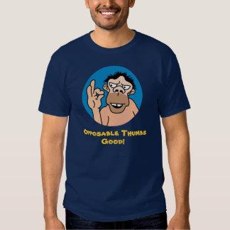 Camiseta divertida del hombre de las cavernas playera