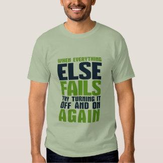 Camiseta divertida del humor del friki y del remeras