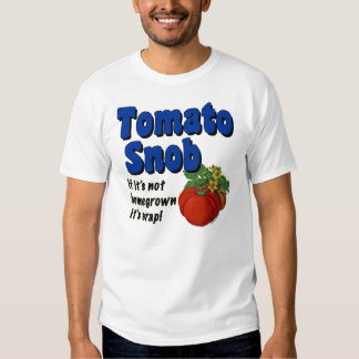 Camiseta divertida del jardinero del snob del poleras