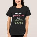 Camiseta divertida del maestro de jardín de infanc