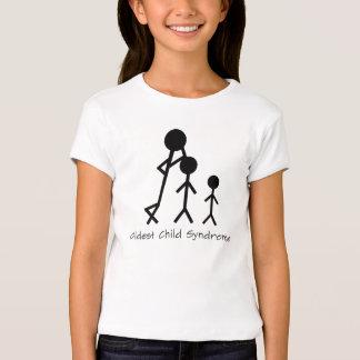 Camiseta divertida del más viejo síndrome del niño