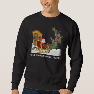 Camiseta divertida del navidad de la casa de sudadera
