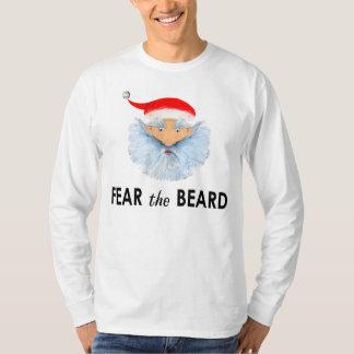 camiseta divertida del navidad playera