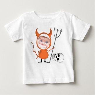 Camiseta divertida del niño del bebé de la foto de playera