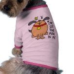 Camiseta divertida del perro de la música ropa de perros