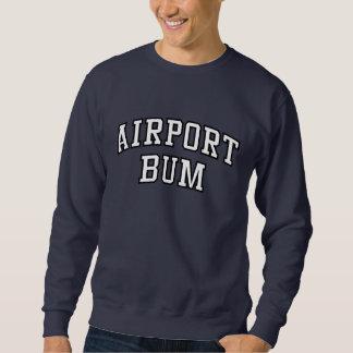 Camiseta divertida del vago del aeropuerto sudadera con capucha