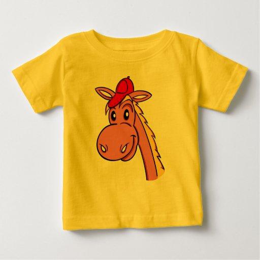 """camiseta divertida """"dibujo animado del bebé del playeras"""