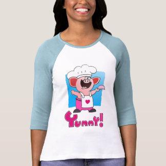 Camiseta divertida divertida del cocinero del
