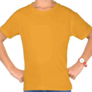 Camiseta divertida feliz de Hooping del aro de Hul