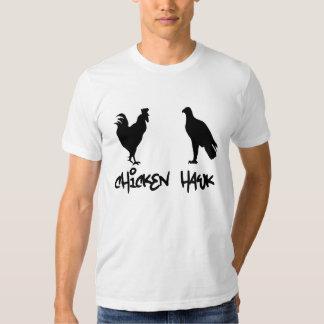 Camiseta divertida - halcón de pollo poleras