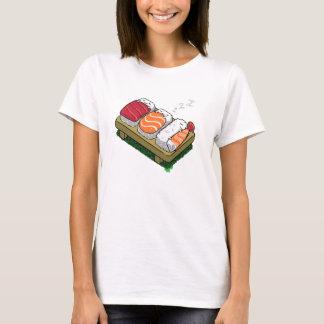 camiseta divertida linda de las mujeres