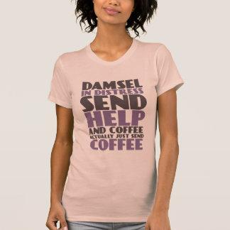 Camiseta divertida para los amantes del café camisas