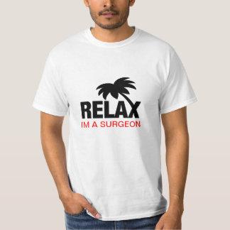 Camiseta divertida para los cirujanos poleras