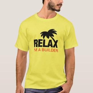 Camiseta divertida para los constructores con el