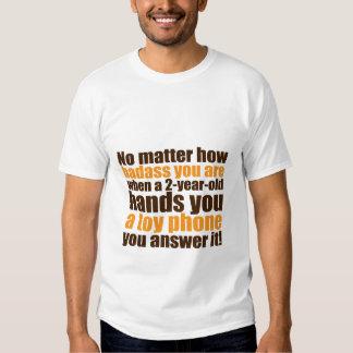 Camiseta divertida para los padres frescos papá o playeras