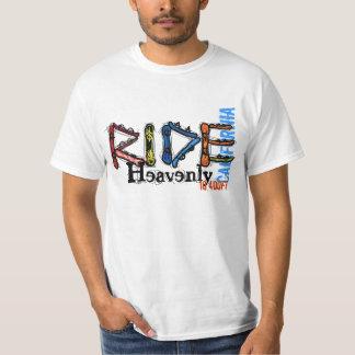 Camiseta divina del valor de la elevación de remera