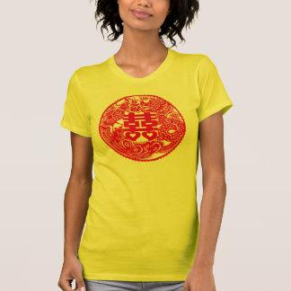 Camiseta doble de la felicidad de Phoenix del