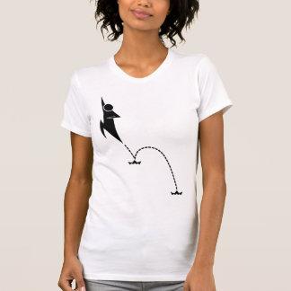 Camiseta doble del salto
