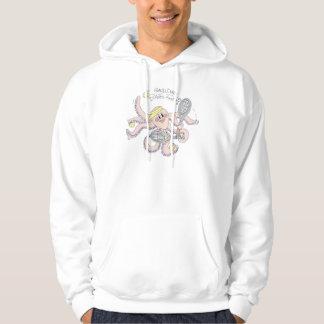 Camiseta - dobles de la duna de arena suéter con capucha