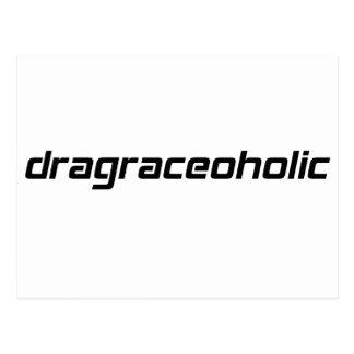camiseta dragraceoholic por Gear4gearheads Tarjetas Postales