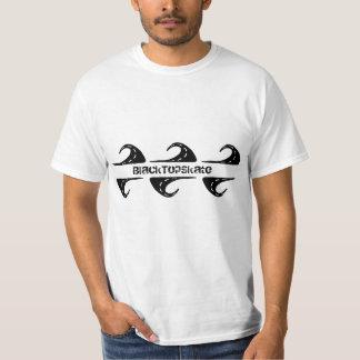 Camiseta dual del registro del BlackTop Remeras