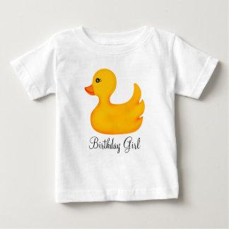 Camiseta Ducky de goma del cumpleaños Playeras